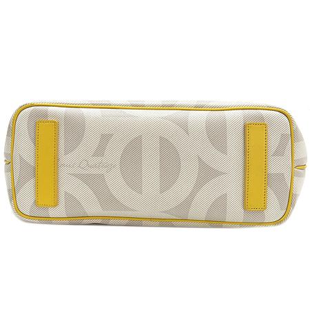 Louis_Quatorze(루이까또즈) 로고 PVC 쇼퍼 숄더백 + 보조 파우치 이미지5 - 고이비토 중고명품