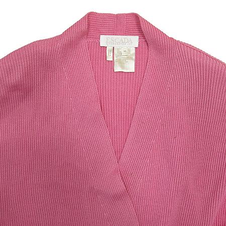 Escada(에스까다) 실크 혼방 핑크 가디건 [강남본점] 이미지2 - 고이비토 중고명품