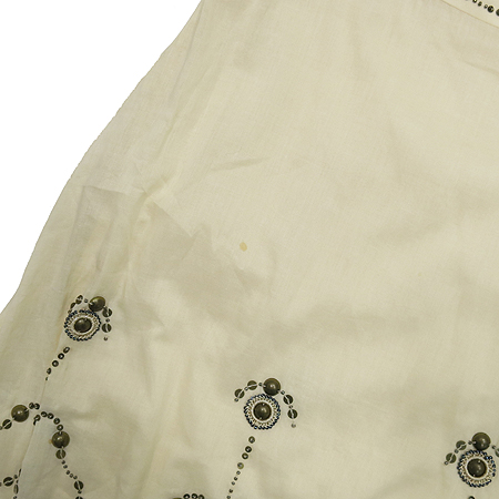 Escada(에스까다) LAUREL 아이보리 스터트 장식 스커트 이미지4 - 고이비토 중고명품