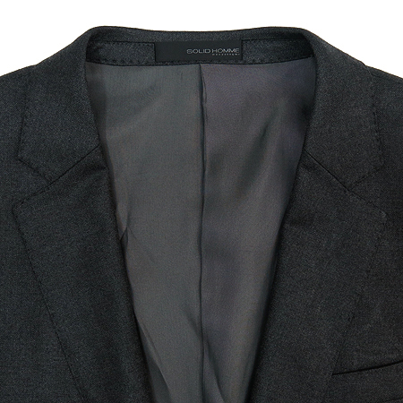 SOLID HOMME(솔리드옴므) 그레이 컬러 자켓 이미지2 - 고이비토 중고명품