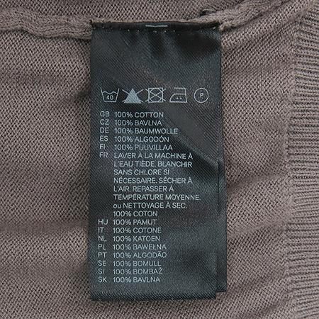 H&M(에이치엔엠) 브라운 컬러 브이넥 니트 이미지4 - 고이비토 중고명품