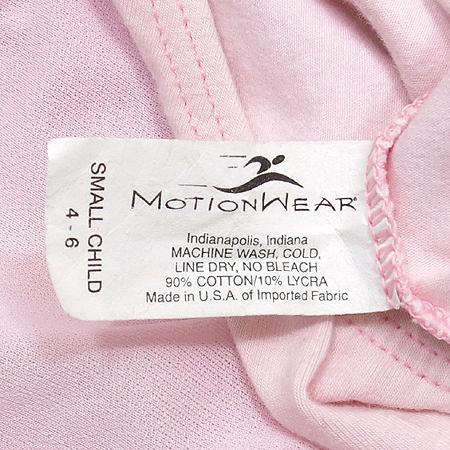 Motionwear 아동용 핑크 발레복 (made in U.S.A)