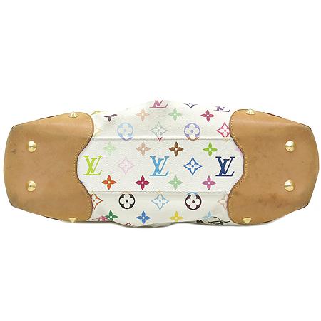Louis Vuitton(루이비통) M40255 모노그램 멀티 컬러 화이트 쥬디 MM 숄더백