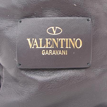 VALENTINO(발렌티노) 블랙 레더 리본장식 2WAY