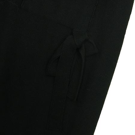 SONIARYKIEL(소니아니켈) 블랙 컬러 밴딩 스커트