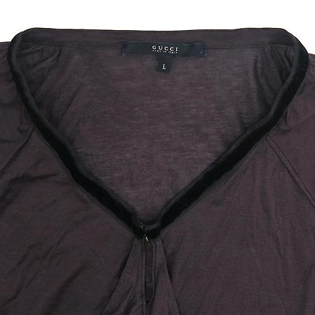 Gucci(구찌) 와인 컬러 브라우스 [동대문점]