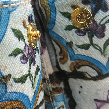 Prada(프라다) 플라워 패턴 패브릭 토트백 [강남본점] 이미지4 - 고이비토 중고명품