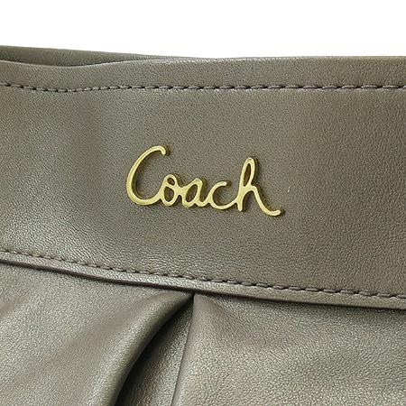 Coach(코치) F17605 금장 로고 장식 메탈릭 레더 크로스백[부천 현대점]