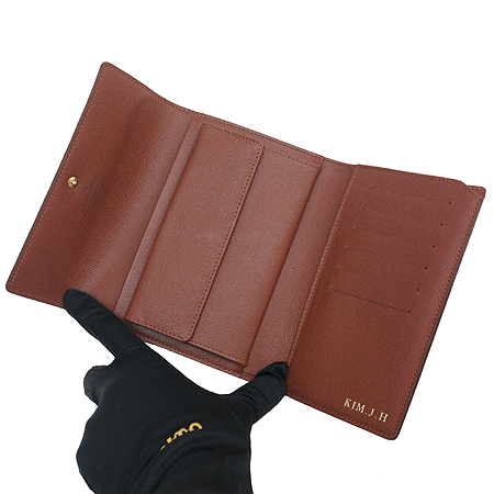 Louis Vuitton(루이비통) M61202 모노그램 캔버스 오거나이저 3단 중지갑 이미지5 - 고이비토 중고명품