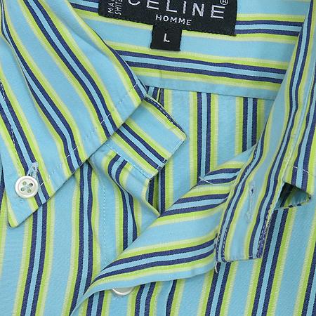Celine(셀린느) HOMME 스트라이프 패턴 반팔 남방