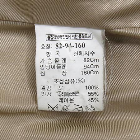Mine(마인) 카라 하프 코트