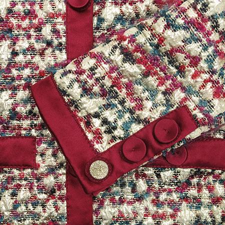 Moschino(모스키노) 실크 혼방 플라워 패턴 자켓