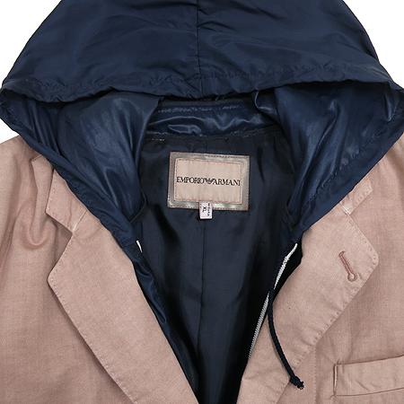Emporio Armani(엠포리오 아르마니) 후드 집업 투버튼 자켓