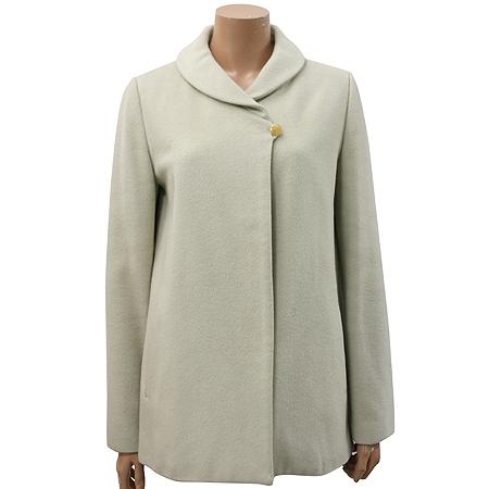 ENC(이엔씨) 라이트 그레이 컬러 하프 코트