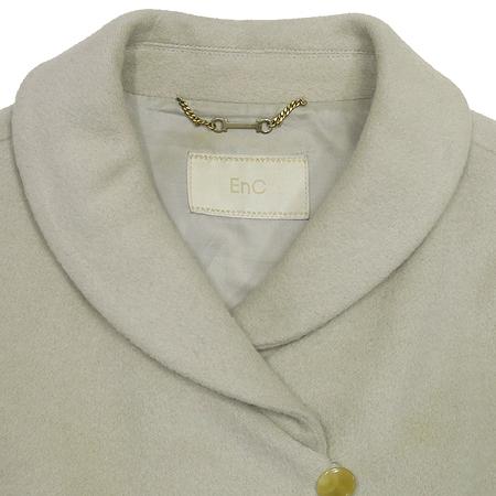 ENC(이엔씨) 라이트 그레이 컬러 하프 코트 이미지2 - 고이비토 중고명품