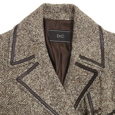 ENC(이엔씨) 더블 버튼 코트 이미지2 - 고이비토 중고명품
