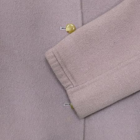 System(시스템) 바이올렛 컬러 하프 코트