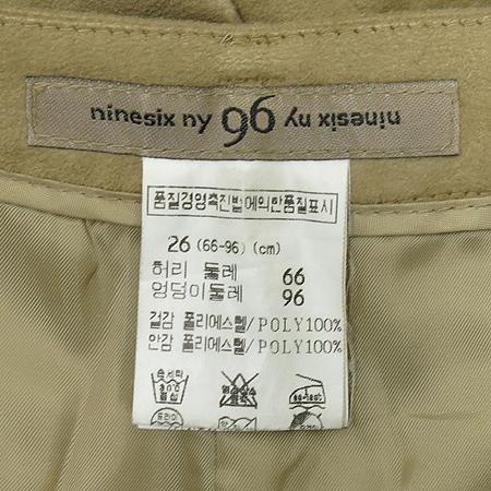 Ninesix(나인식스) 스웨이드 베이지 컬러 정장 SET
