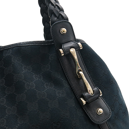 Gucci(구찌) 137621 GG로고 블랙 자가드 숄더백