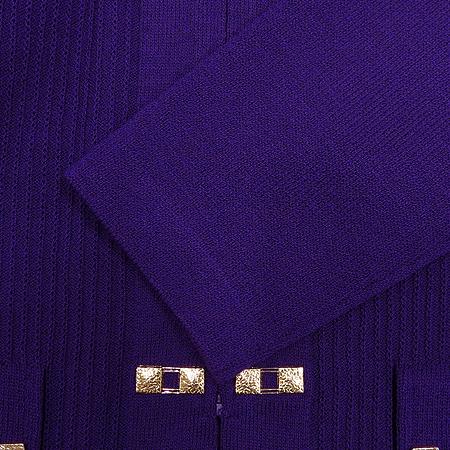 ST.John(센존) 퍼플 컬러 집업 가디건 이미지4 - 고이비토 중고명품