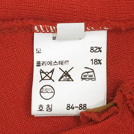 Chole(끌로에) 오렌지 컬러 집업 조끼 [동대문점]