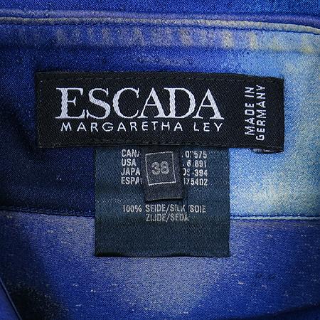Escada(에스까다) 스페이스 패턴 실크 브라우스