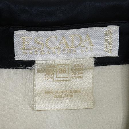 Escada(에스까다) 아이보리 컬러 실크 브라우스