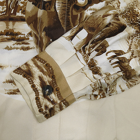 Escada(에스까다) 코끼리 패턴 실크 브라우스 [부산센텀본점] 이미지3 - 고이비토 중고명품