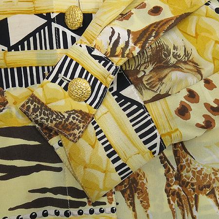 Escada(에스까다) 사파리 패턴 실크 롱 브라우스 [부산센텀본점] 이미지3 - 고이비토 중고명품