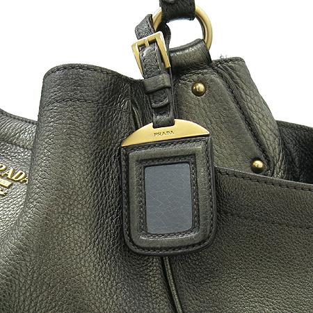 Prada(프라다) 금장 로고 장식 골드 메탈릭 숄더백