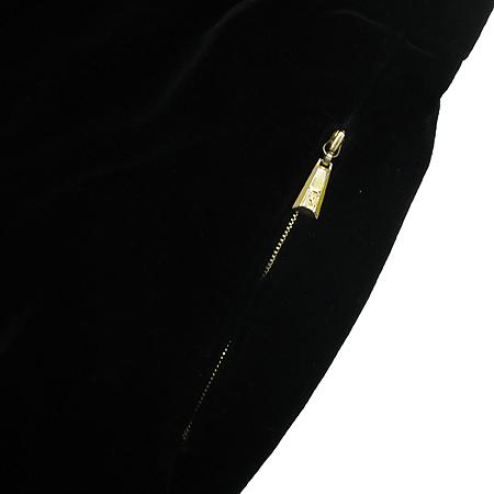 Escada(에스까다) 블랙 컬러 벨벳 바지 이미지3 - 고이비토 중고명품