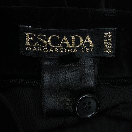 Escada(에스까다) 블랙 컬러 벨벳 바지 이미지4 - 고이비토 중고명품