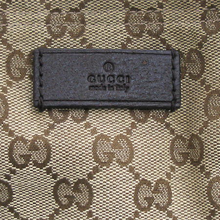 Gucci(구찌) 189669 GG 로고 자가드 브라운 스트랩 토트백 [잠실점]
