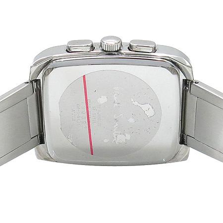Paul Smith(폴스미스) 쿼츠 크로노그래프 사각프레임 스틸 남여공용 시계