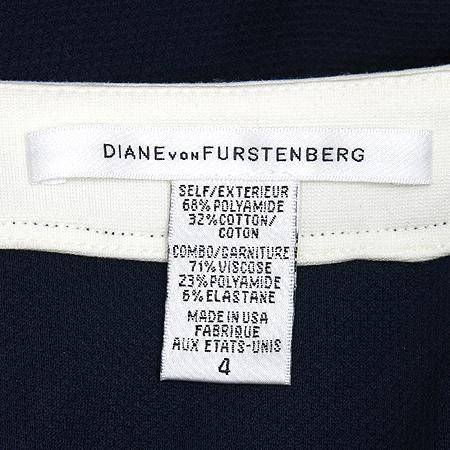 DIANE von FURSRENBERG(다이앤 본 퍼스텐버그) 네이비컬러 민소매 원피스 [부산센텀본점] 이미지4 - 고이비토 중고명품