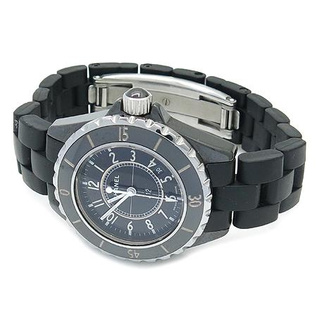 Chanel(샤넬) H0681 J12 블랙 세라믹 러버 밴드 33MM 여성용 시계