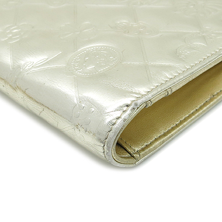 Chanel(샤넬) 골드 밀러 페이던트 로고 장식 아이콘 장지갑 [명동매장]