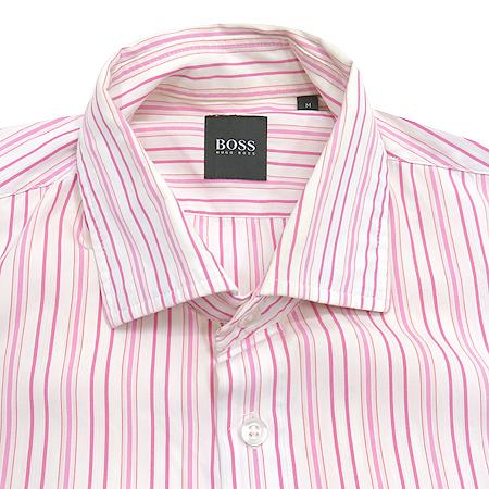 Hugo Boss(휴고보스) 핑크 스트라이프 셔츠