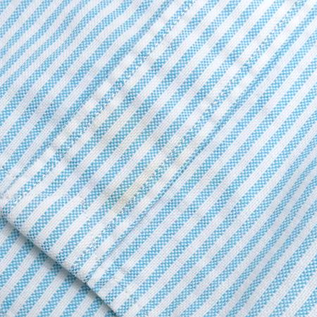 Polo Ralphlauren(폴로) 스카이 블루 컬러 스트라이프 반팔 남방 이미지4 - 고이비토 중고명품