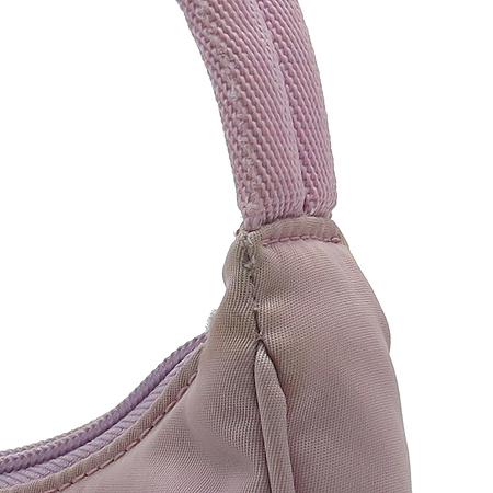 Prada(프라다) 핑크 패브릭 파우치 숄더백