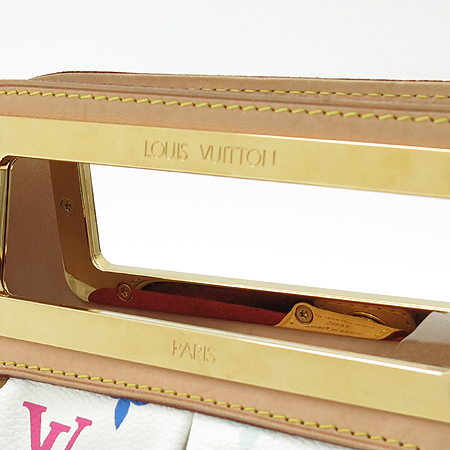 Louis Vuitton(루이비통) M40257 모노그램 멀티 화이트 주디PM 2WAY 이미지5 - 고이비토 중고명품