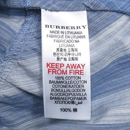 Burberry(버버리) 아동용 롤업 블루 체크 원피스