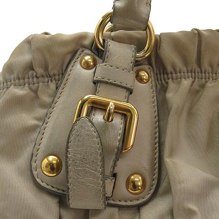 Prada(프라다) BN1336 금장 로고 장식 고프레 패브릭 2WAY 이미지4 - 고이비토 중고명품