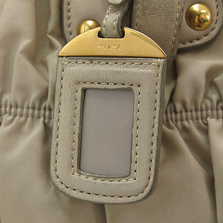 Prada(프라다) BN1336 금장 로고 장식 고프레 패브릭 2WAY