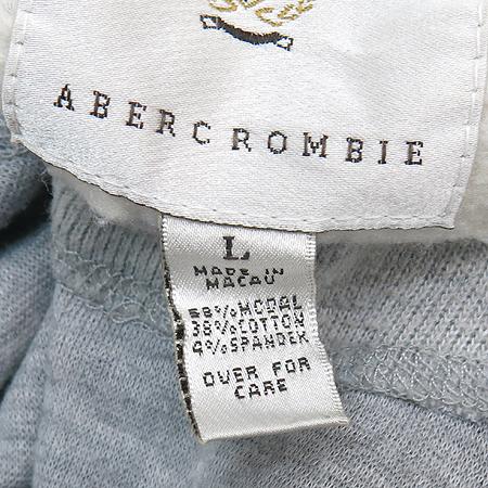 Abercrombie(아베크롬비) 그레이 컬러 집업 가디건