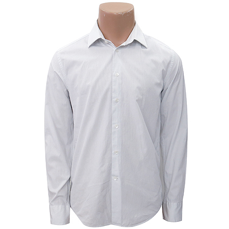 Calvin Klein(캘빈클라인) 스카이블루 컬러 스트라이프 셔츠