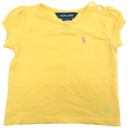 Polo Ralphlauren(폴로) 아동용 옐로우 컬러 반팔 티