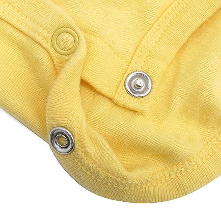 Carter's(카터스) 아동용 옐로우 컬러 반팔 바디수트 이미지4 - 고이비토 중고명품