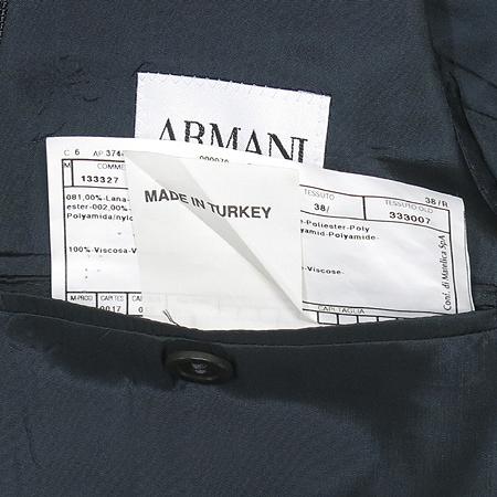 Armani COLLEZIONI(아르마니 꼴레지오니) 다크그레이 컬러 스트라이프 자켓