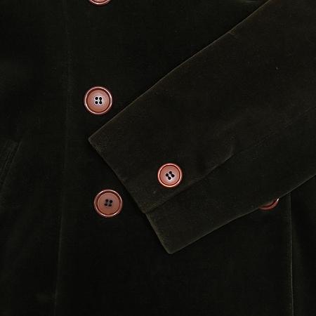 CLUB MONACO(클럽모나코) 다크카키 컬러 벨벳 자켓